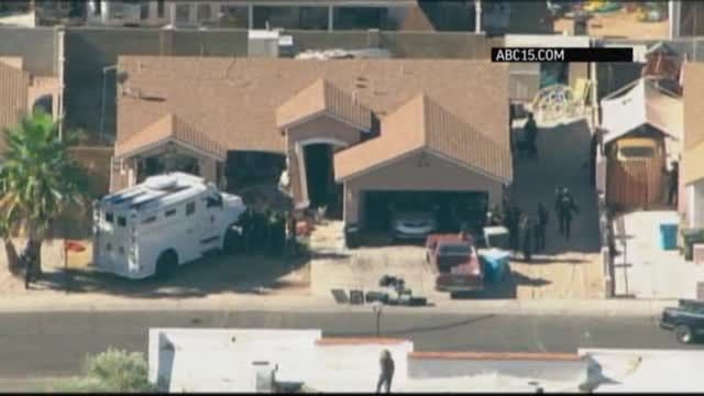News video: Police Ram House to End Hostage Standoff