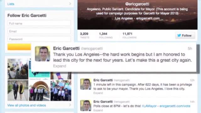 News video: Garcetti Elected Los Angeles Mayor Over Greuel