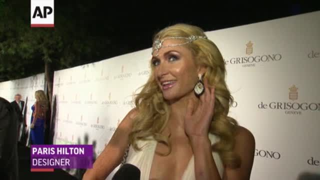 News video: Paris Hilton, Sharon Stone at de Grisogono Party