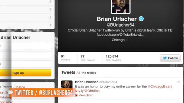 News video: Brian Urlacher to Retire From NFL After 13 Seasons