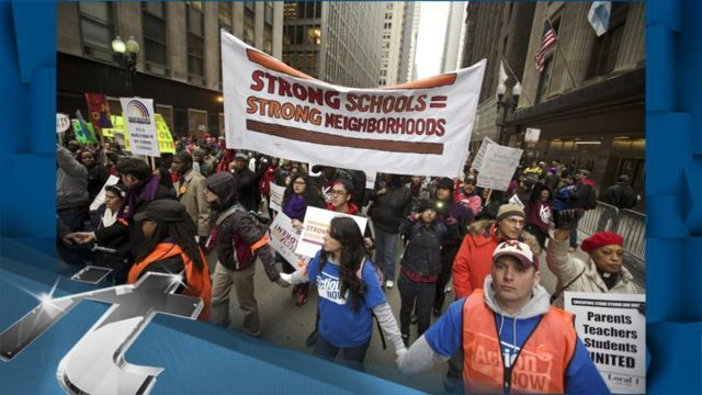 News video: Education Breaking News: Chicago School Board Votes to Close 50 Schools